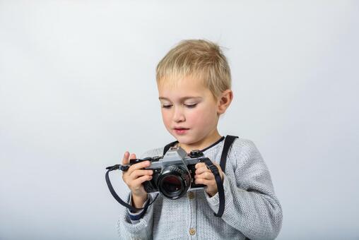 Boy with camera 14