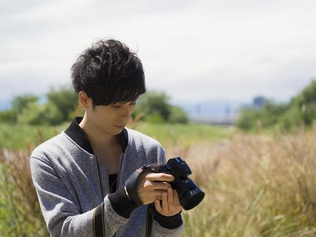 Man with a camera 12