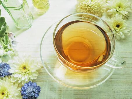 Flower and herbal tea image