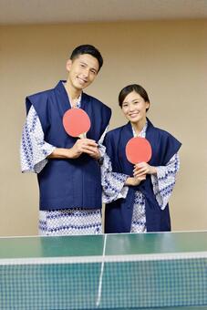 这是乒乓球说到温泉!五