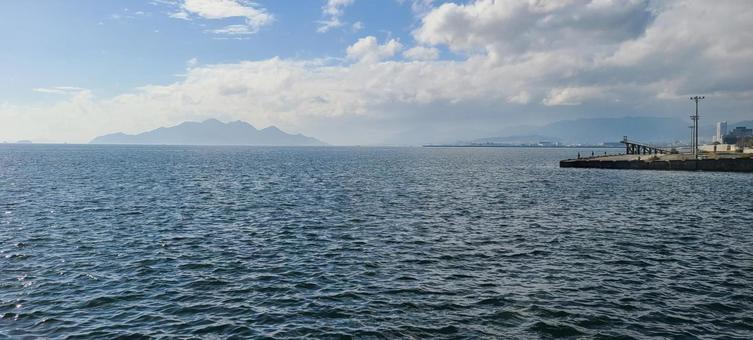 항구 풍경