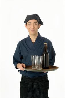 Izakaya customer service clerk 10