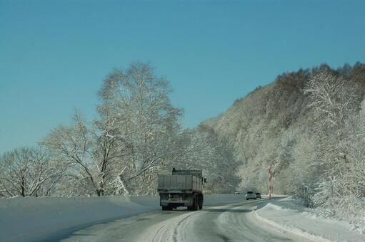 北海道在冬天