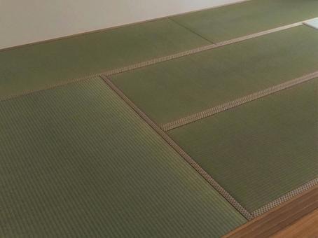 Re-covering tatami mats