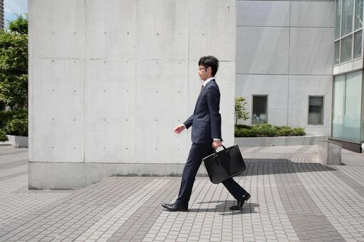 Walking businessman 6