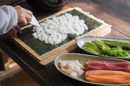 초밥 만들기