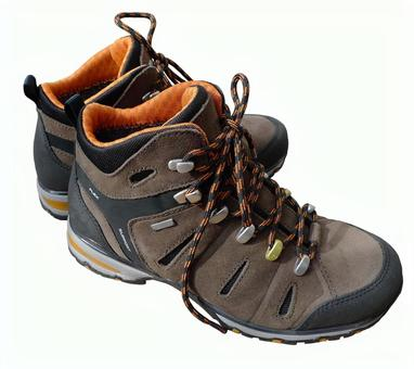 Trekking shoes (clipping)