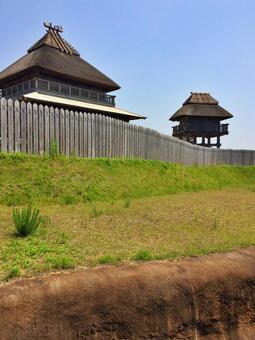 吉野吉里遺址北內壁1