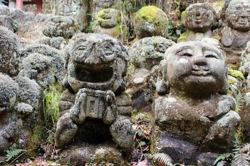 Atago Nenbutsu-ji Temple Rakan Headphones