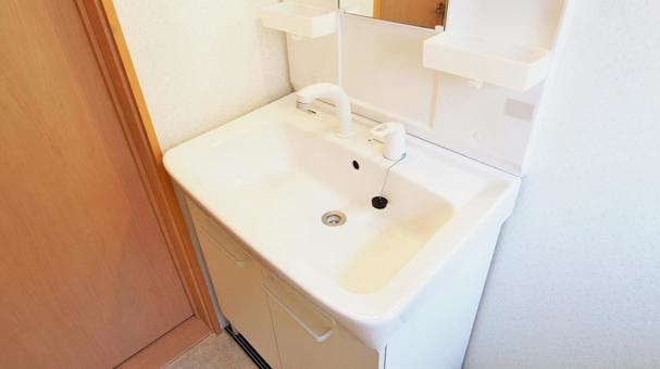 Shampoo dresser washbasin rental property