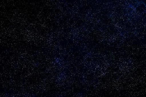 The starry sky's sparkle
