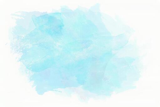 푸른 수채화 오려내