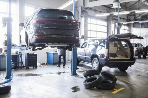 Automatic vehicle preparation workshop 4