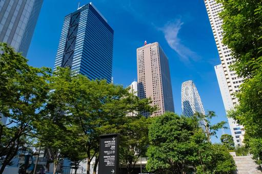 Nishi Shinjuku skyscrapers