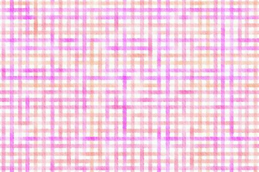 Watercolor plaid pink background image