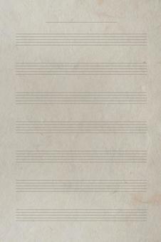 Retro Japanese paper sound sheet music_staff background material_vintage cream sheet music texture