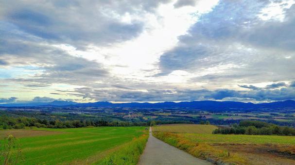 Furano scenery