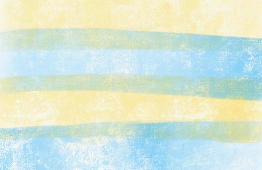 蠟筆條紋淺藍黃色