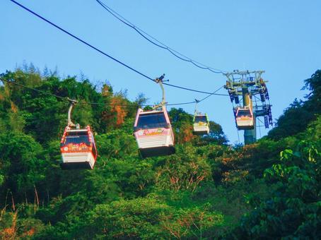 대만-타이페이 (Wenshan_Maokong_Maokonggondra_Maokong Gondola)