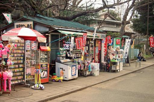 """Nippori, Yanaka, Ueno Tokyo Bottom walk walking """"Ueno Park's shop"""""""