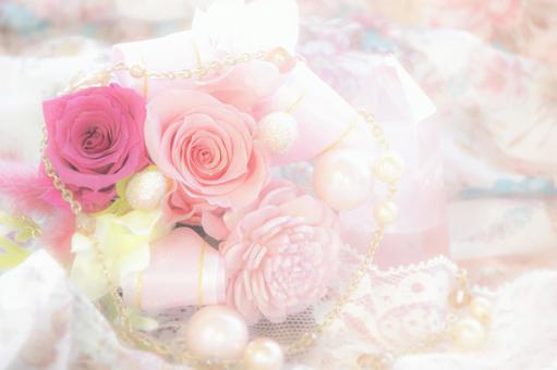 장미 꽃다발 어레인지 이미지