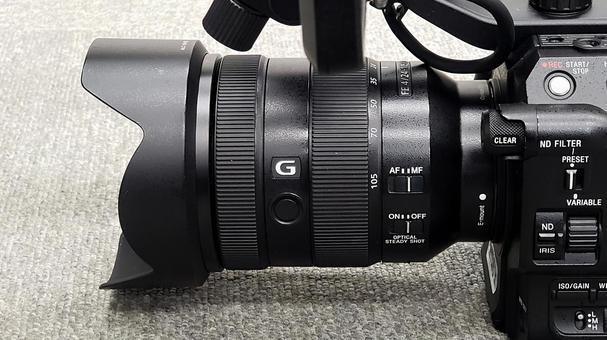High-end camcorder lens