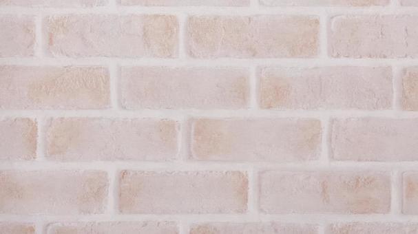 [핑크 가공] 벽돌 소재 벽지 ①