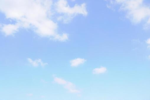 Refreshing blue sky | Free background material