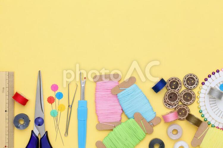 裁縫 裁縫セットの写真