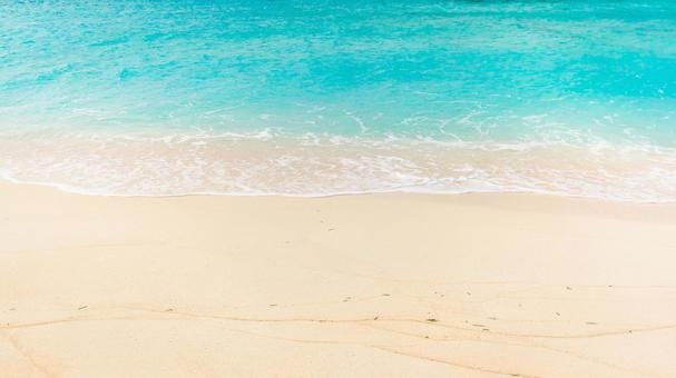 끝없이 바닷가