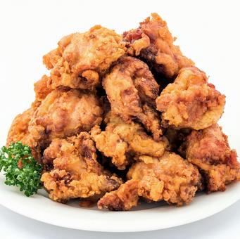 Heap fried chicken [heap, lots of ingredients, mega heap series]