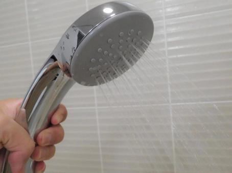 Shower hot water