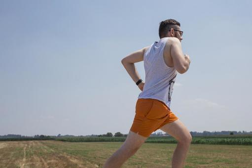 Male jogging 6