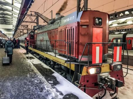 러시아 침대 열차