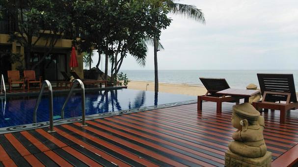 Thai sea (Hua Hin)