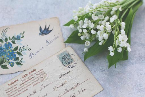 Flowers and greeting cards