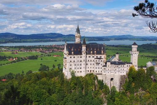 신데렐라 성의 모델이 된 독일 노이 슈반 슈타인 성