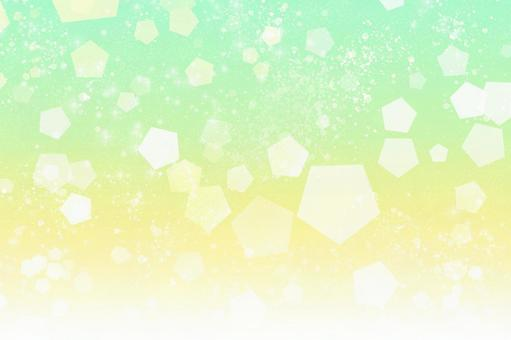 Melon soda Carbonated texture [By PSD layer] Background material Glitter Summer Green Yellow Cool