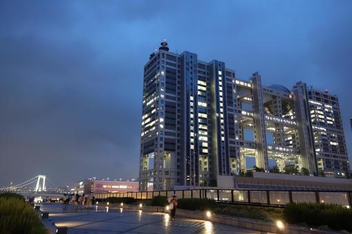 Tokyo Odaiba Fuji Television 1