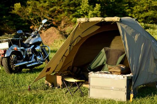 Camping camp for camping touring