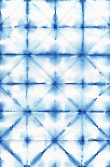 背景水彩日式染藍紙