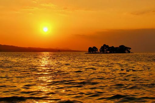Lake Shinji and waterfowl