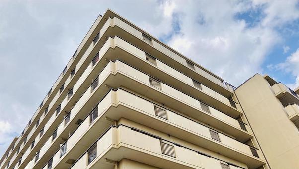 아파트 모서리 부동산 이미지