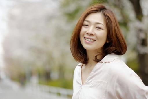 Smiling woman 8