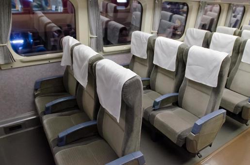 Inside the train 1
