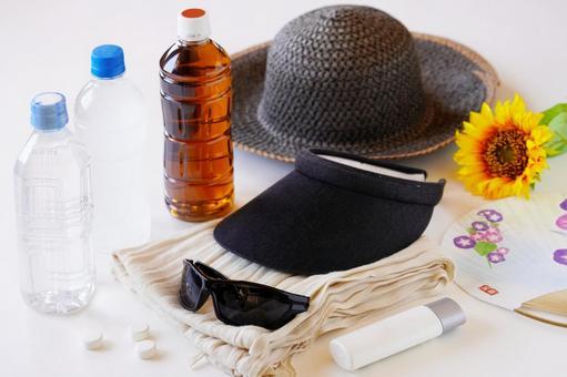 夏季的必需品(紫外線和中暑措施)
