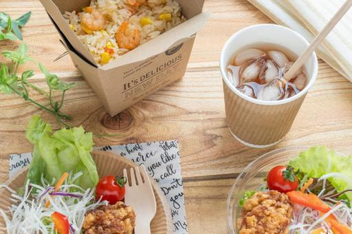 Image of takeaway lunch