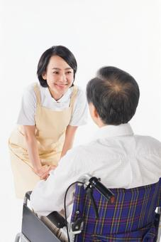 Nurse and wheelchair male 15