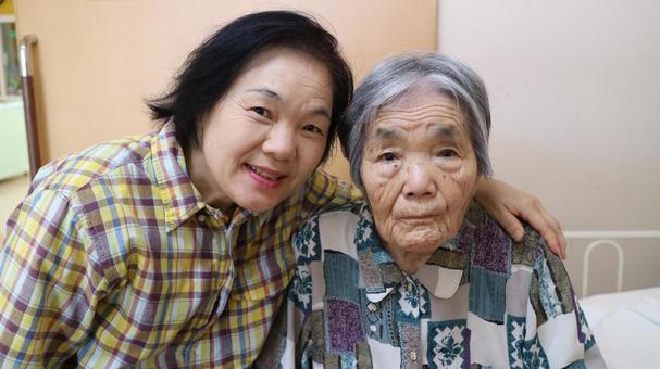 Elderly grandma