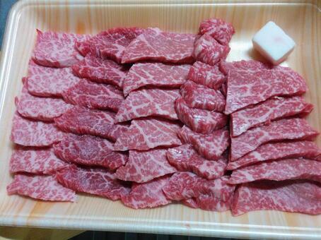 소의 고급 고기
